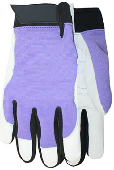 Midwest Quality Gloves 146D4 Max Performance Ladies Goatskin Palm Gloves, Size 8