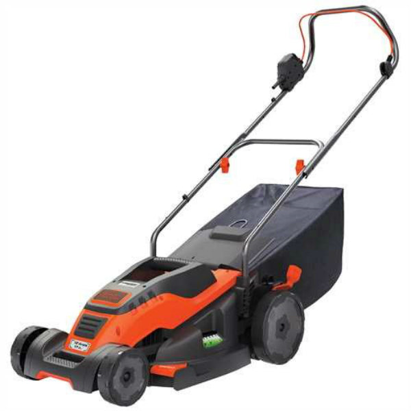 Black & Decker® EM1700 Lawn Mower w/ 6 Setting Height Adjustment, 12A, 17""