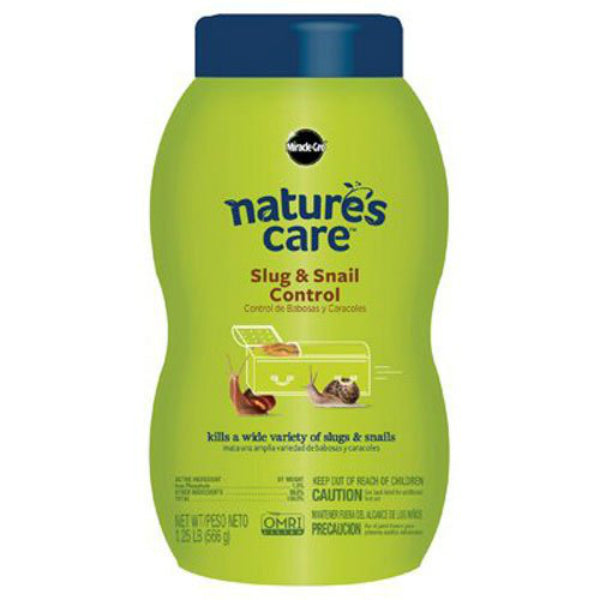 Miracle-Gro® 0757110 Nature's Care® Slug & Snail Control, 1.25 Lbs