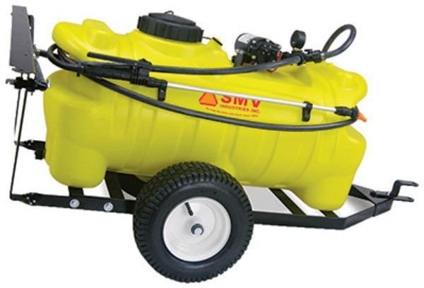 SMV 15TY202HLB1G2N Trailer Sprayer, 15 Gallon, 2 GPM Pump, Light Hand Wand