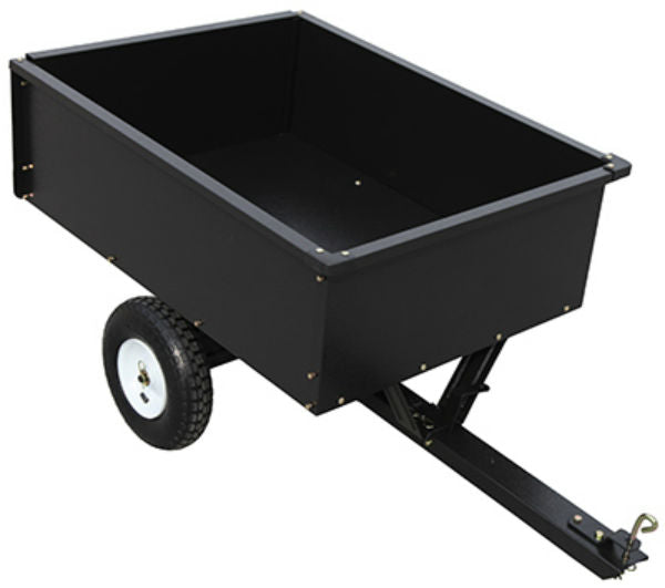 Master Rancher YTL22139 Steel Dump Cart, 10 Cu.Ft., 400 Lb Capacity