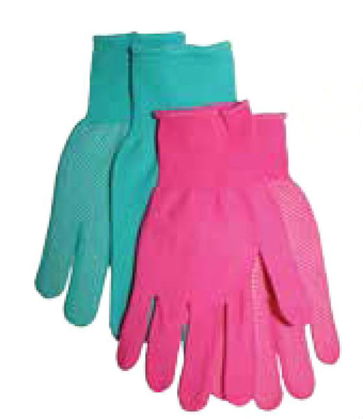 Midwest 505D4 Knit Liner with Mini PVC Dots on Palm Garden Glove, Ladies