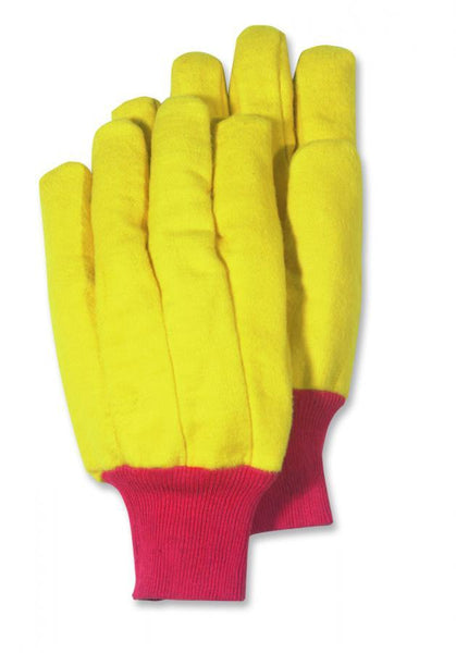 HandMaster® 565JT12 Jumbo Heavy-Napped Gold Fleece Chore Glove, X-Large, 12-Pack