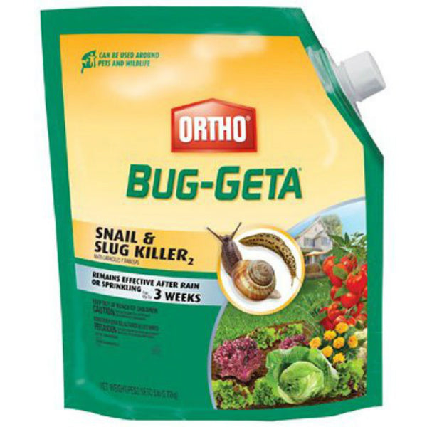 Ortho® 0475610 Bug-Geta® Snail & Slug Killer, 6 Lbs