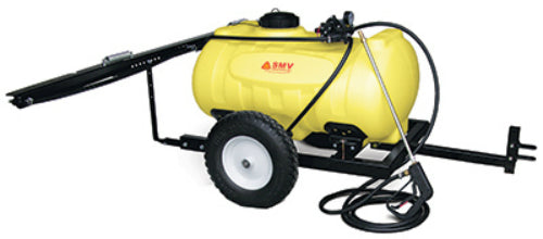 SMV 40TY403HLB2G3N Deluxe Trailer Sprayer, 40-Gallon, Yellow, 4.0 GPM