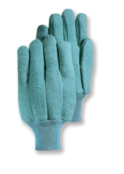 HandMaster® 466KWT Extra-Heavy Napped Fleece Chore Men's Glove, Green, Large