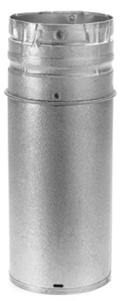 "DuraVent® 3PVL-A12R Adjustable Pellet Vent Pipe, 3"" x 12"""