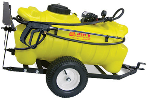 SMV 25TY202HLB2G2N Deluxe Trailer Sprayer, 25 Gallon, 2.0 GPM Pump