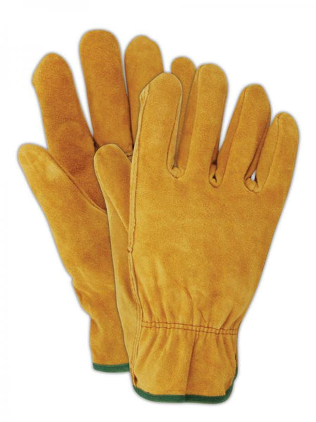 HandMaster® T340TL ProGrade® Suede Cowhide Leather Men's Glove, Russet, Large