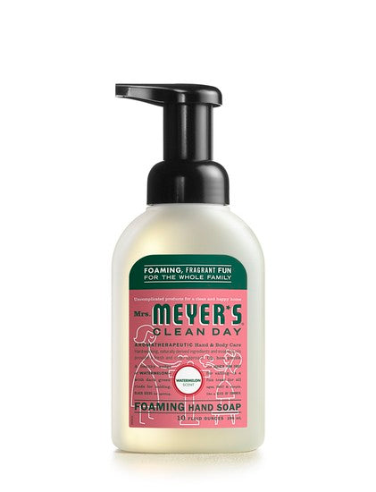 Mrs. Meyer's Clean Day 17466 Foaming Hand Soap, 10 Oz, Watermelon Scent