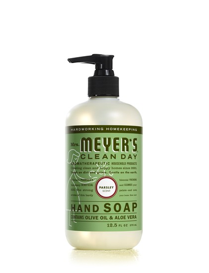 Mrs. Meyer's Clean Day 17446 Liquid Hand Soap, 12.5 Oz, Parsley Scent