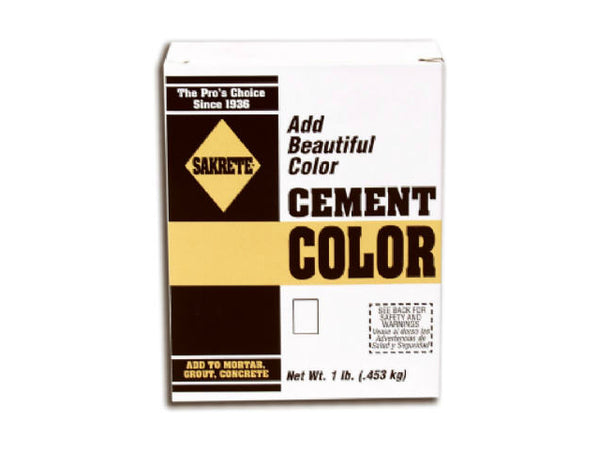 Sakrete® 65075000 Brown Color Cement, 1 Lb