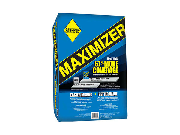 Sakrete® 65200007 Maximizer® Concrete Mix, 80 Lb