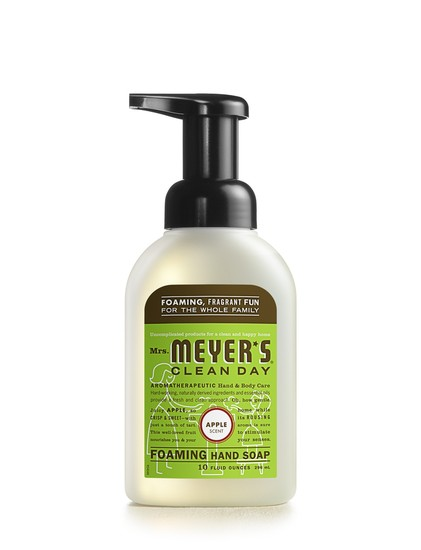 Mrs. Meyer's Clean Day 17566 Foaming Hand Soap, 10 Oz, Apple Scent