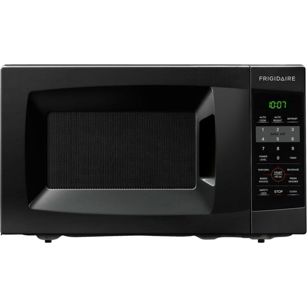 Frigidaire® FFCM0724LB Countertop Microwave, 0.7 Cuft, Black, 700W Output Power