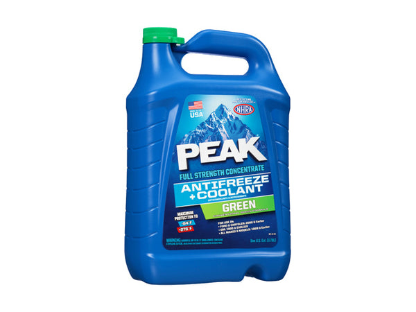 Peak PKA0B3 Full Strength Concentrate Green Antifreeze & Coolant, Gallon