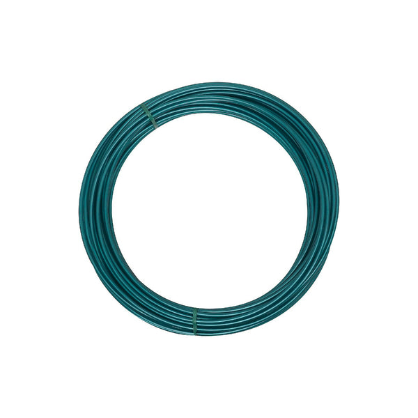 National Hardware® N267-039 Plastic Coated Clothesline Wire, 50', Green, 2575BC