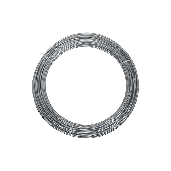 National Hardware® N266-973 Galvanized Wire, 12 Gauge x 100', 2568BC