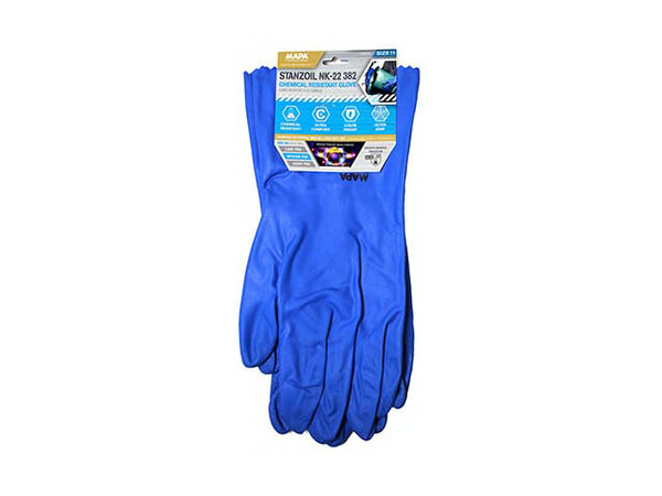 MAPA GLNK2211 Stanzoil 382 Chemical Resistant Glove, Size 11