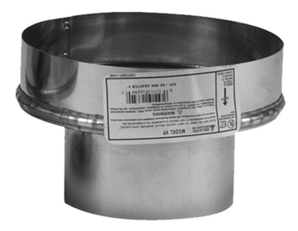 "Selkirk 244246 Chimney 4VP-A6 Adapter, 4"" Diameter"