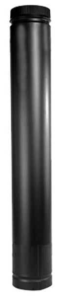 "Selkirk DSP8TL Telescopic DSP8TL Double Wall Stove Pipe, 8"" DM, Matte Black"