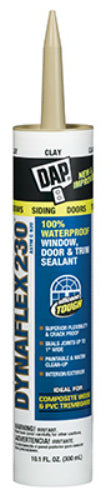 Dap® 18416 Dynaflex 230® Premium Elastomeric Latex Sealant, 10.1 Oz, Clay