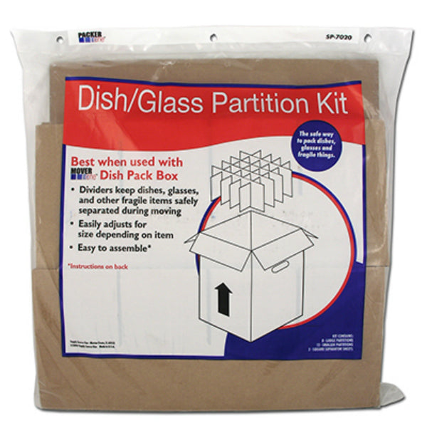 Packer One SP-7020 Dish/Glass Partition Kit