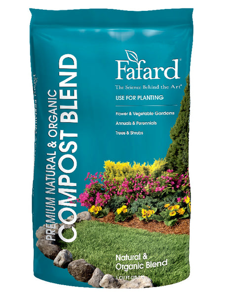 Fafard® 4005108 Premium Natural & Organic Compost, 1 Cu.ft.