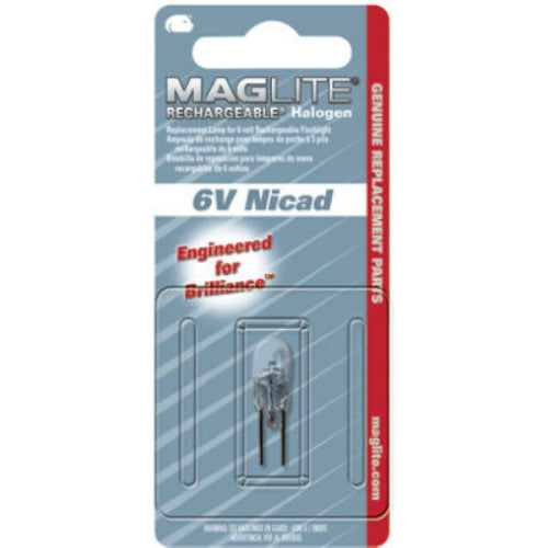 Maglite LR00001 Halogen Magcharger Replacement Lamp, Bi-Pin
