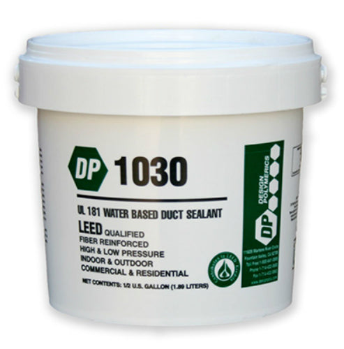 Design Polymerics KK0326 Water Based Duct Sealant, 64 Oz