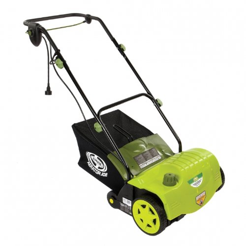Snow Joe® AJ800E Electric Dethatcher With AirBoost Technology, 11 Amp, 14""