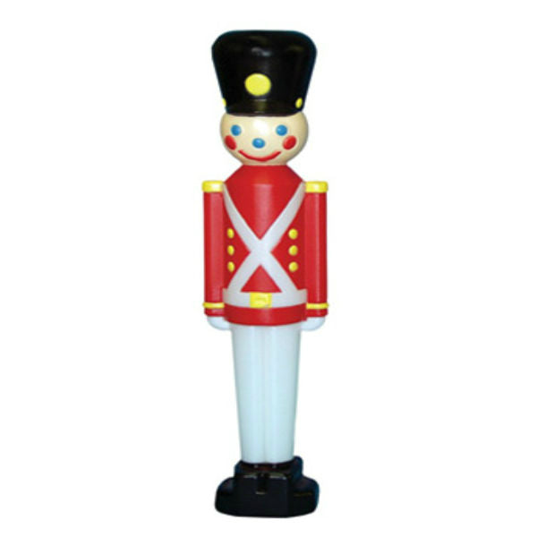 General Foam C3330TS Toy Soldier w/ Black Hat Lighted Christmas Figurine, 32""