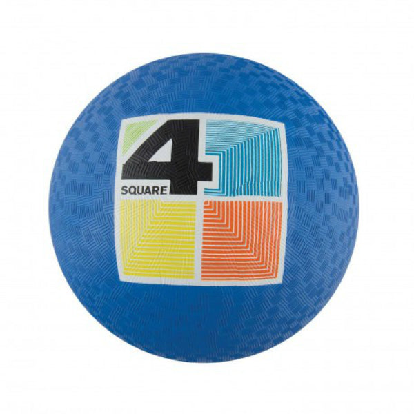 "Franklin 6325 Rubber Playground Ball, 8.5"", Assorted Colors"