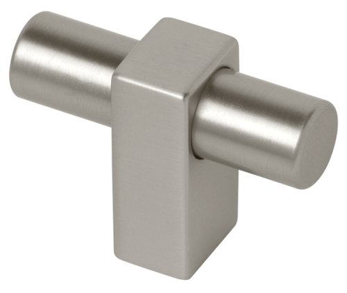 "Liberty Hardware P17020C-110-C Artesia Cabinet Knob, 1-3/4"", Stainless Finish"