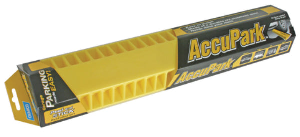 Camco 44443 AccuPark Tire Stop with Adhesive Tape Strips Vehicle Parking Aid