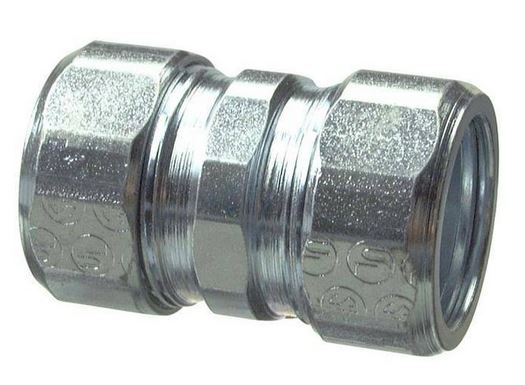 Halex® 96361 Steel Compression Coupling, 1/2""