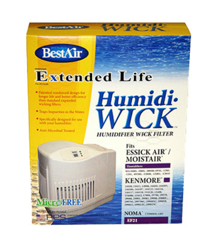 BestAir EF21 Extended Life Humidi-Wick Filter