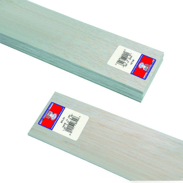 "Midwest Products 6304 Balsa Wood, 1/8"" x 3"" x 36"""