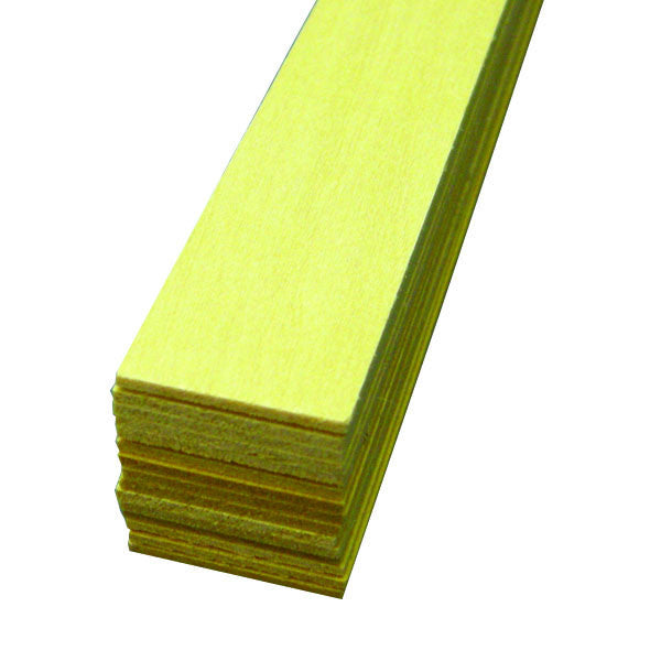 "Midwest Products 4025 Basswood, 1/16"" x 3/16"" x 24"""