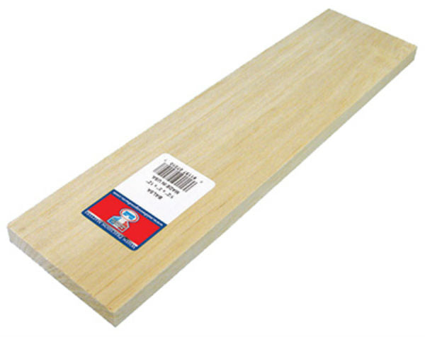 "Midwest Products 6302 Balsa Wood, 1/16"" x 3"" x 36"""