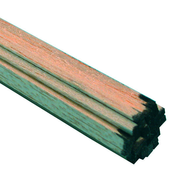"Midwest Products 6046 Balsa Wood, 1/8"" x 1/4"" x 36"""