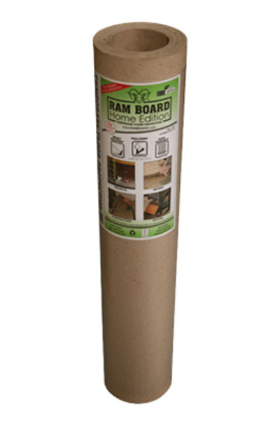 "Ram Board® RBHE3650 Home Edition™ Heavy-Duty Temporary Foor Protection, 36"" x 50'"