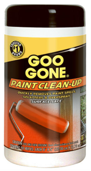 Goo Gone® 2062 Paint Clean-Up Wipes, 50-Count