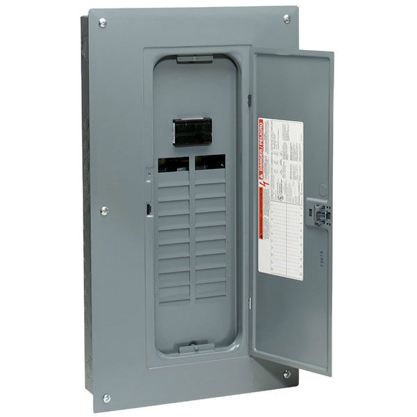 Square-D HOM2040M100PC Homeline™ Main Breaker Installed Load Center, 100A