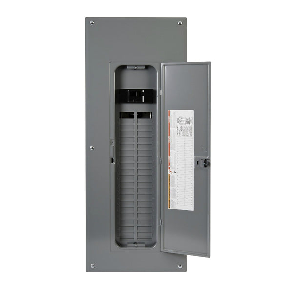 Square-D HOM4080M200PC Main Breaker Installed Load Center, 200A