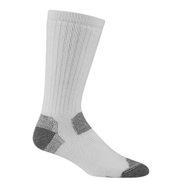 Wigwam® F1369-051-XL At Work Rigger Moisture Wicking Socks, White, X-Large