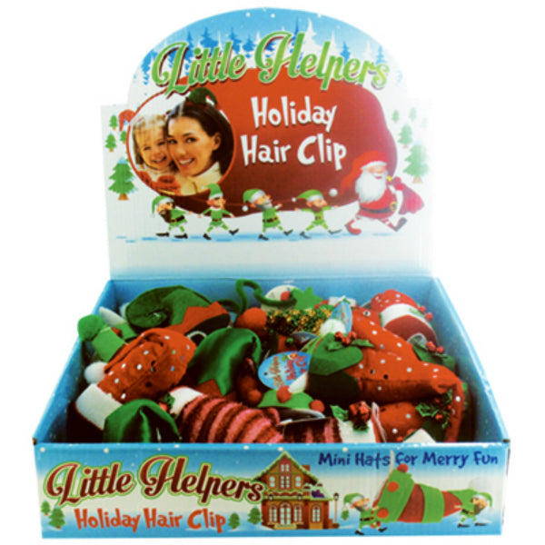 Little Helpers  X-CLIP Christmas Mini Holiday Hair Clip, 10 Cute Styles