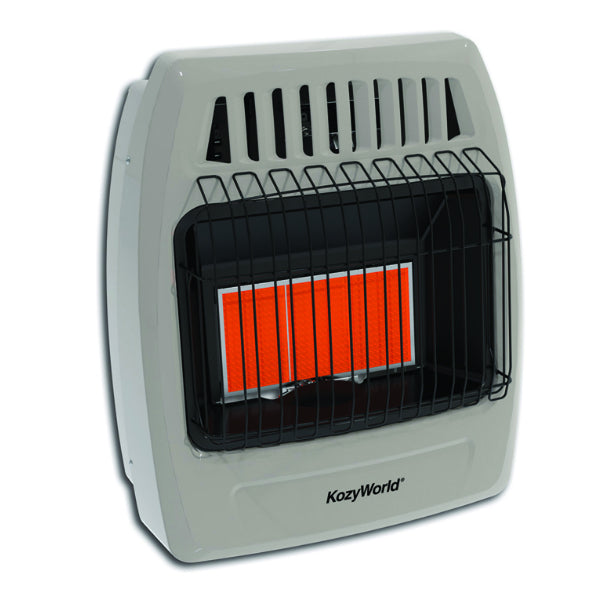 Kozy World® KWP392 Propane Infrared Space Heater, 18000 BTU