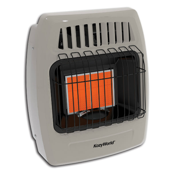 Kozy-World® KWP212 Propane Infrared Vent Free Space Wall Heater, 12000 BTU