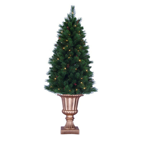 General Foam TS-RAF145231 Royal Mixed Potted Artificial Tree 5', 105-Lights